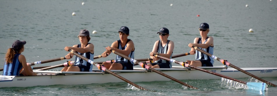 Rowing at Unley High School